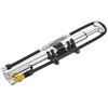 Lezyne Micro Floor Drive HPG Pompka rowerowa z ciśnieniomierzem  srebrny